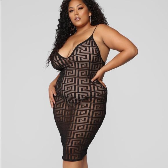 7c1a2e84e4c Fashion Nova Curve Plus Size Dress - 3X